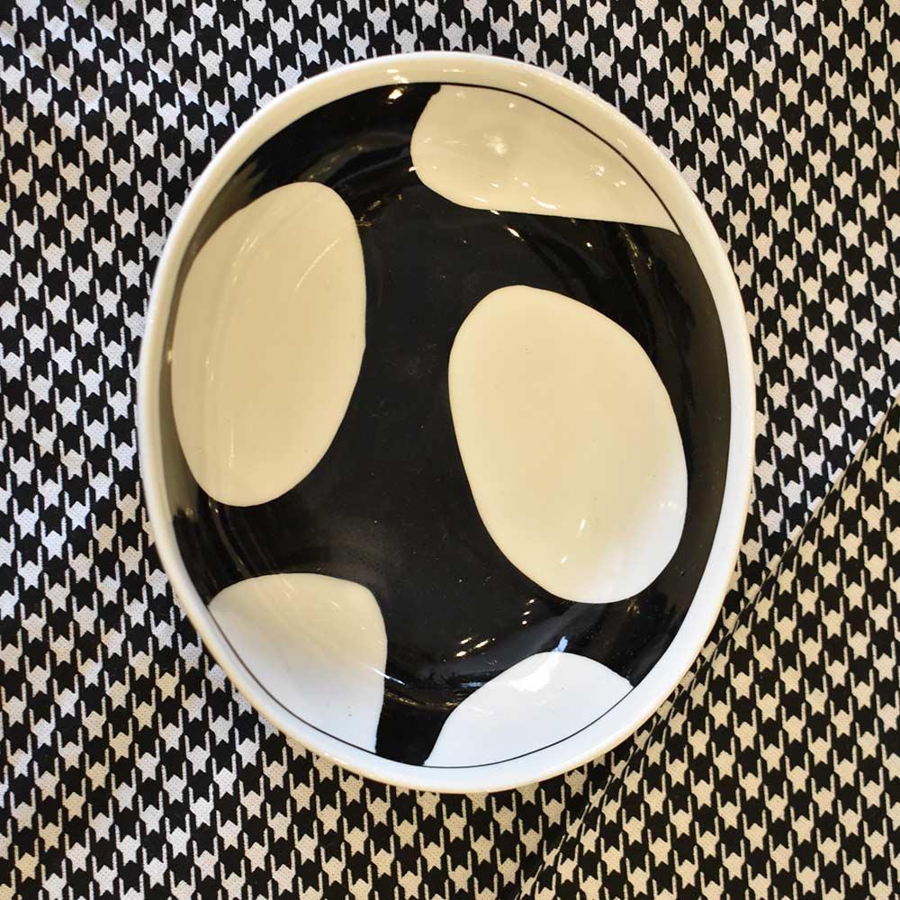 Bowl Estampado Preto e Branco  - Lemis