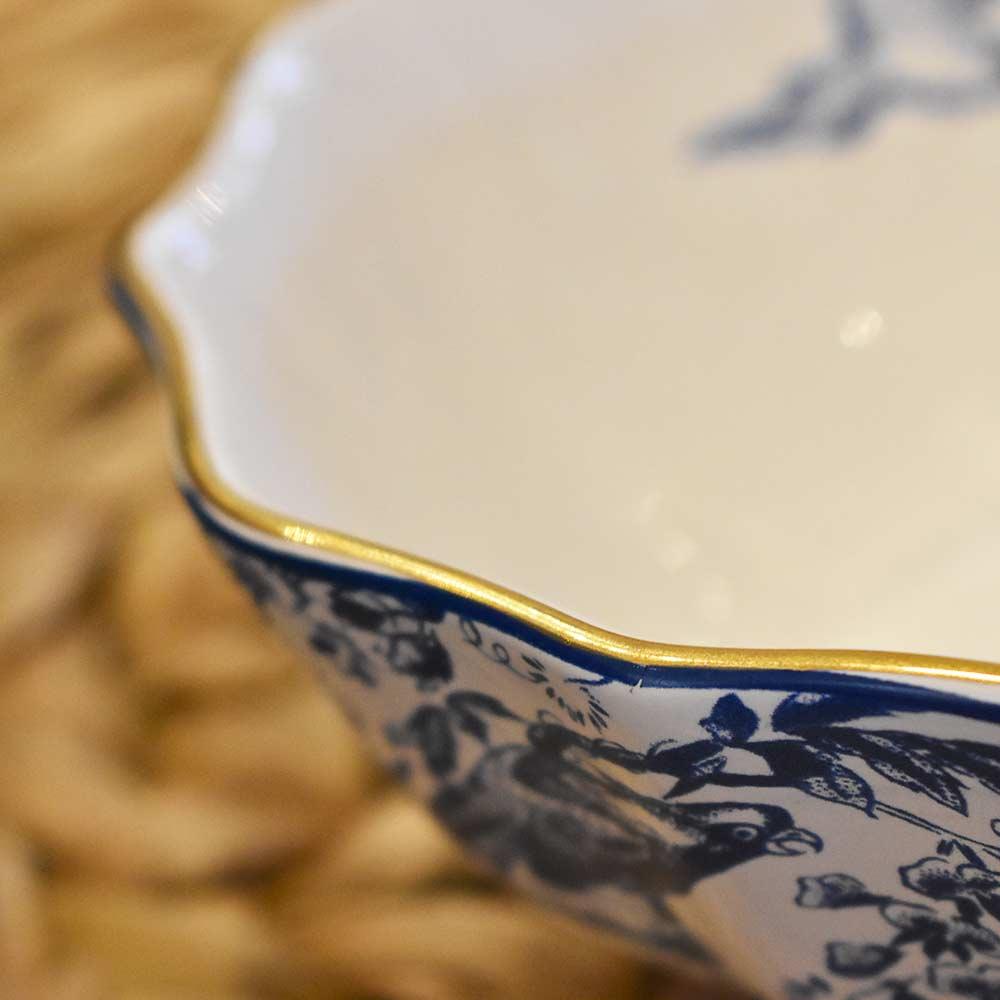 Bowl para Cereal Faisão 1ª Linha Scalla  - Lemis
