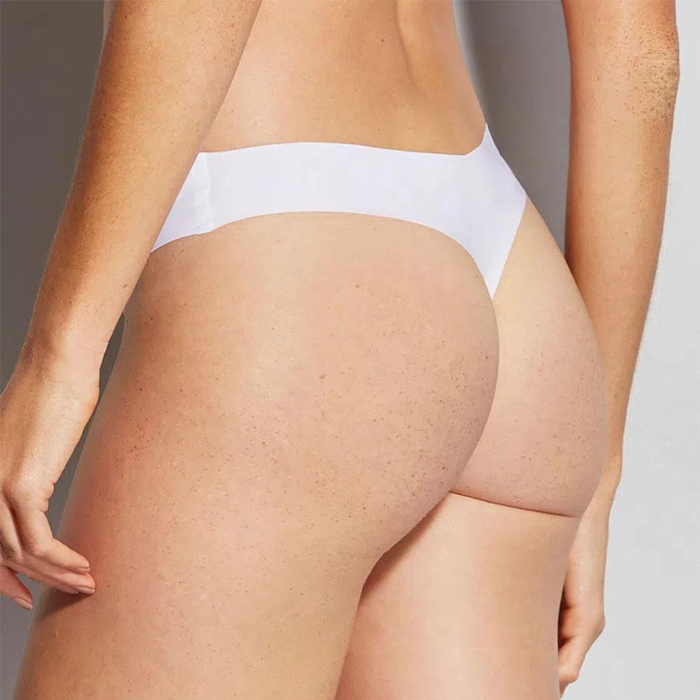 Calcinha Fio Dental Nude Branco Hope  - Lemis