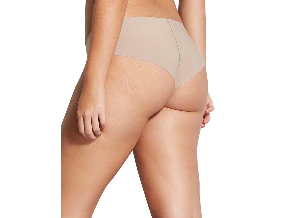 Calcinha Hope Tanga Brasileira Nude Bege Camurça  - Lemis