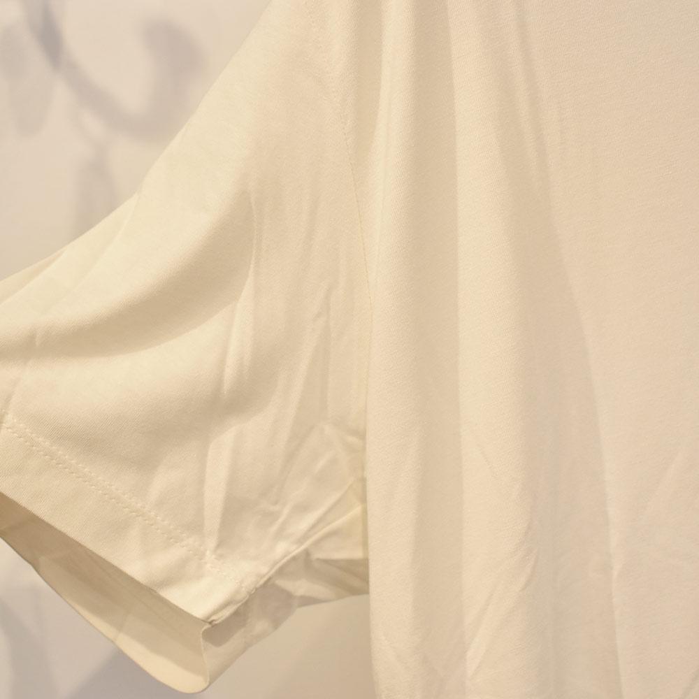 Camiseta Branca em Malha Cheroy  - Lemis