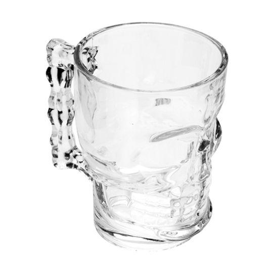 Caneca para Chopp e Cerveja Caveira 510 ml  - Lemis