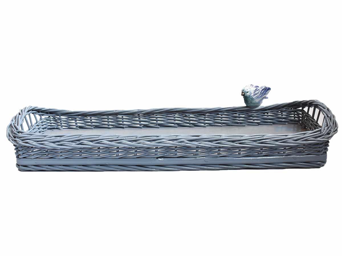 Cesta Baguete Azul  - Lemis
