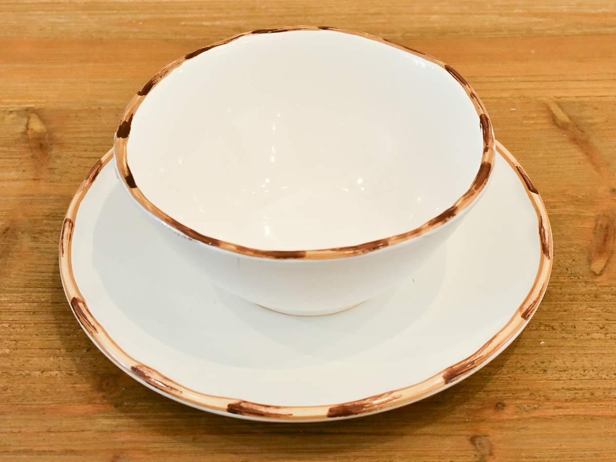 Conjunto 12 Bowls Para Sopa Bambu 2ª Linha  - Lemis