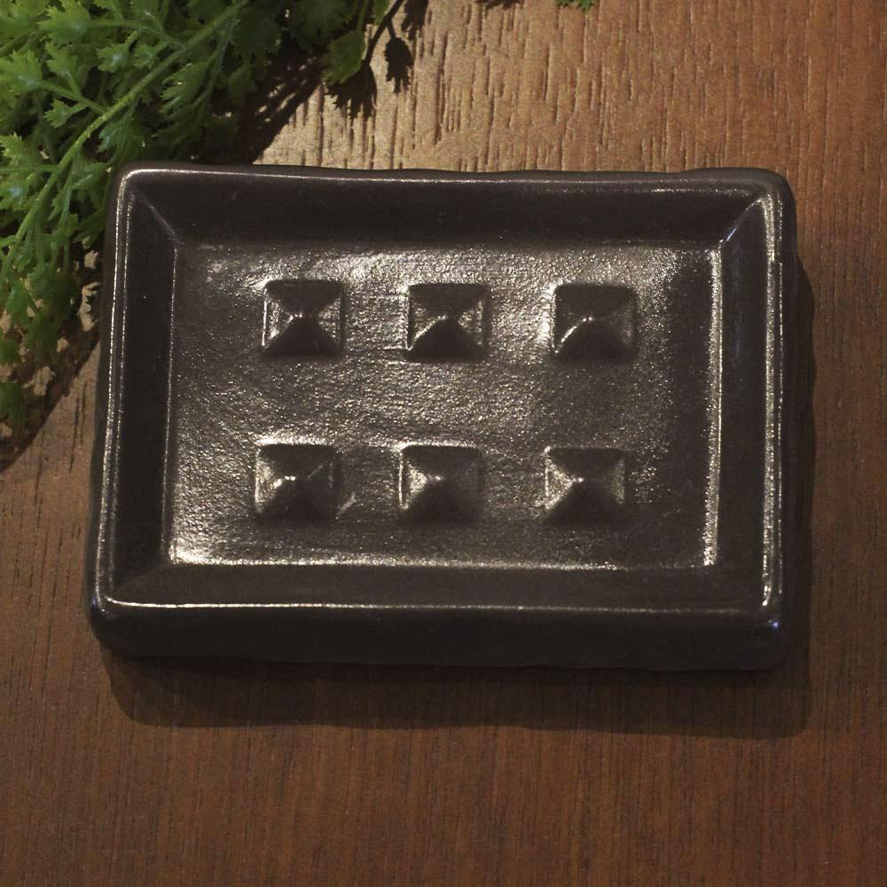 Conjunto 3 Peças para Banheiro Marron Geométrica  - Lemis