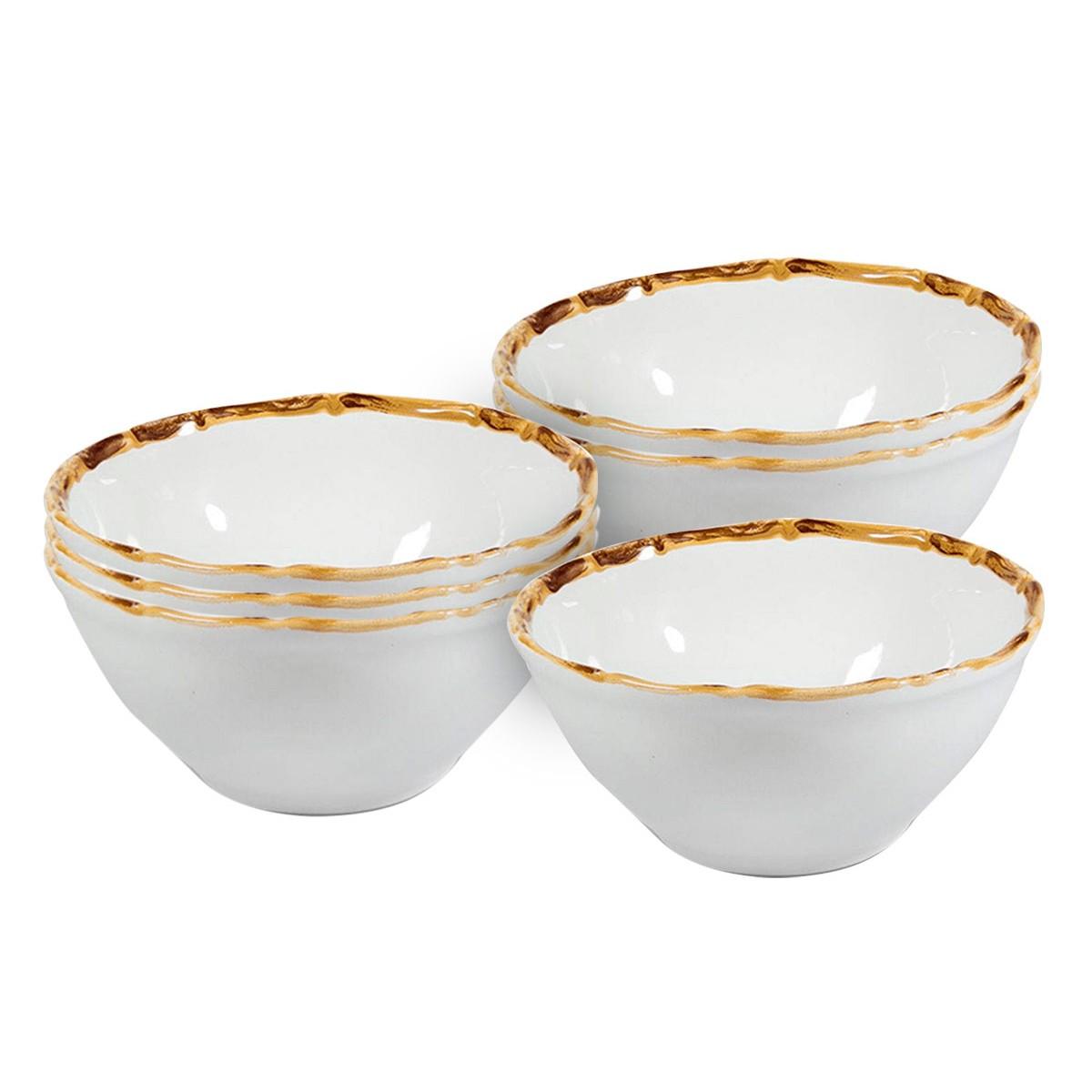 Conjunto 6 Bowls Para Sopa Bambu 2ª Linha  - Lemis