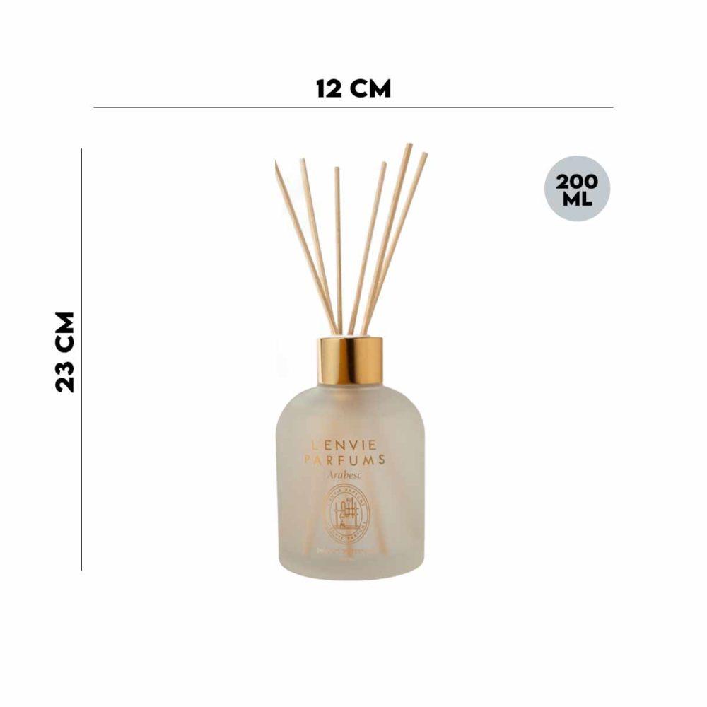 Difusor de Perfume Citrus Verbena 200ml  - Lemis
