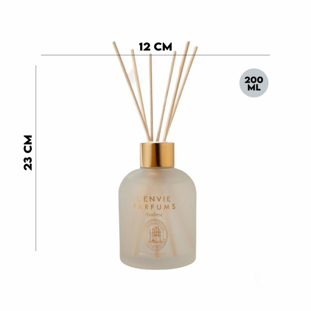Difusor de Perfume Patchouli Vanilla 200ml Lenvie  - Lemis