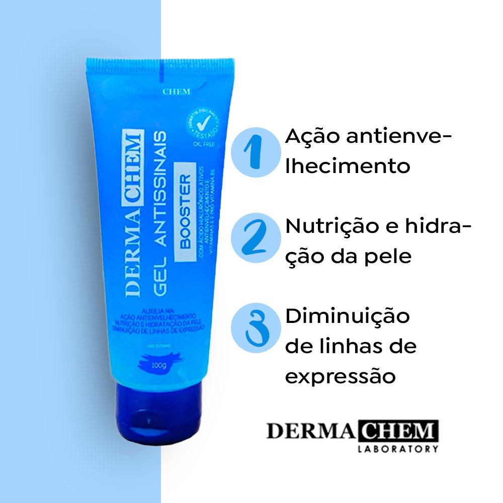 Gel Antissinais Booster 100g Dermachem  - Lemis
