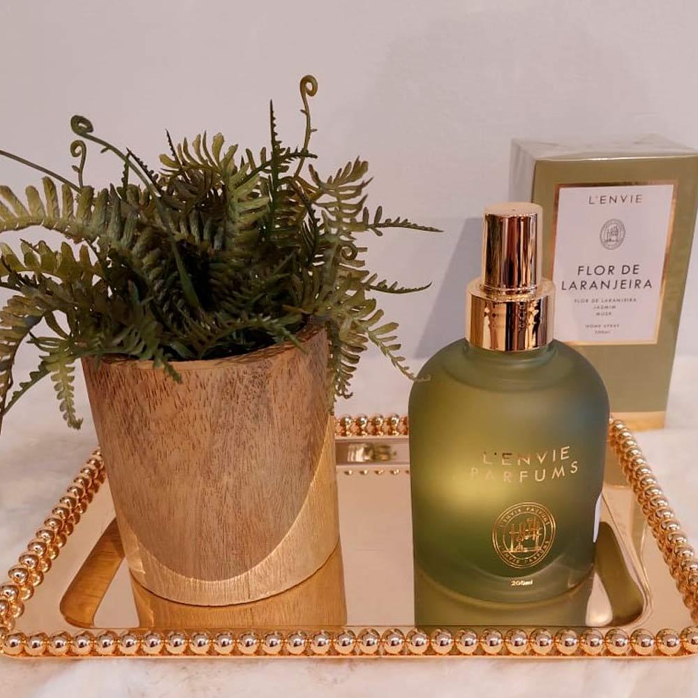 Home Spray Flor de Laranjeira 200ml Lenvie  - Lemis