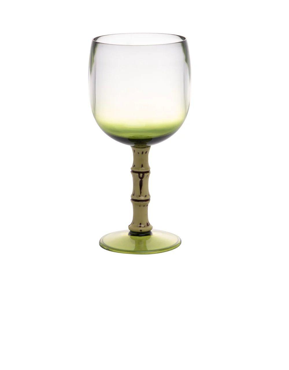 Jogo 10 Taças Acrílico Verde Bon Gourmet 500 ml  - Lemis
