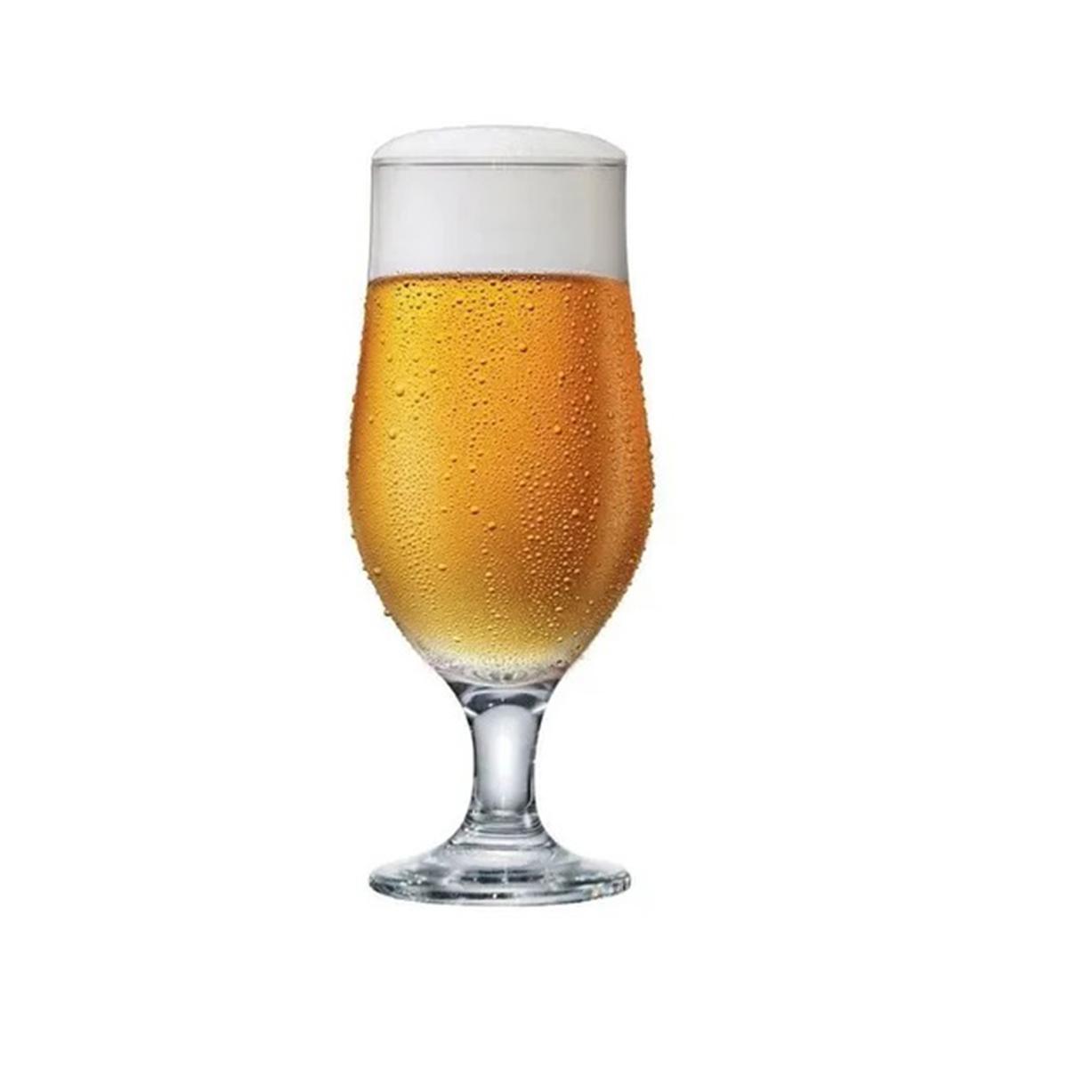 Jogo 4 Taças para Cerveja 330 ml  - Lemis