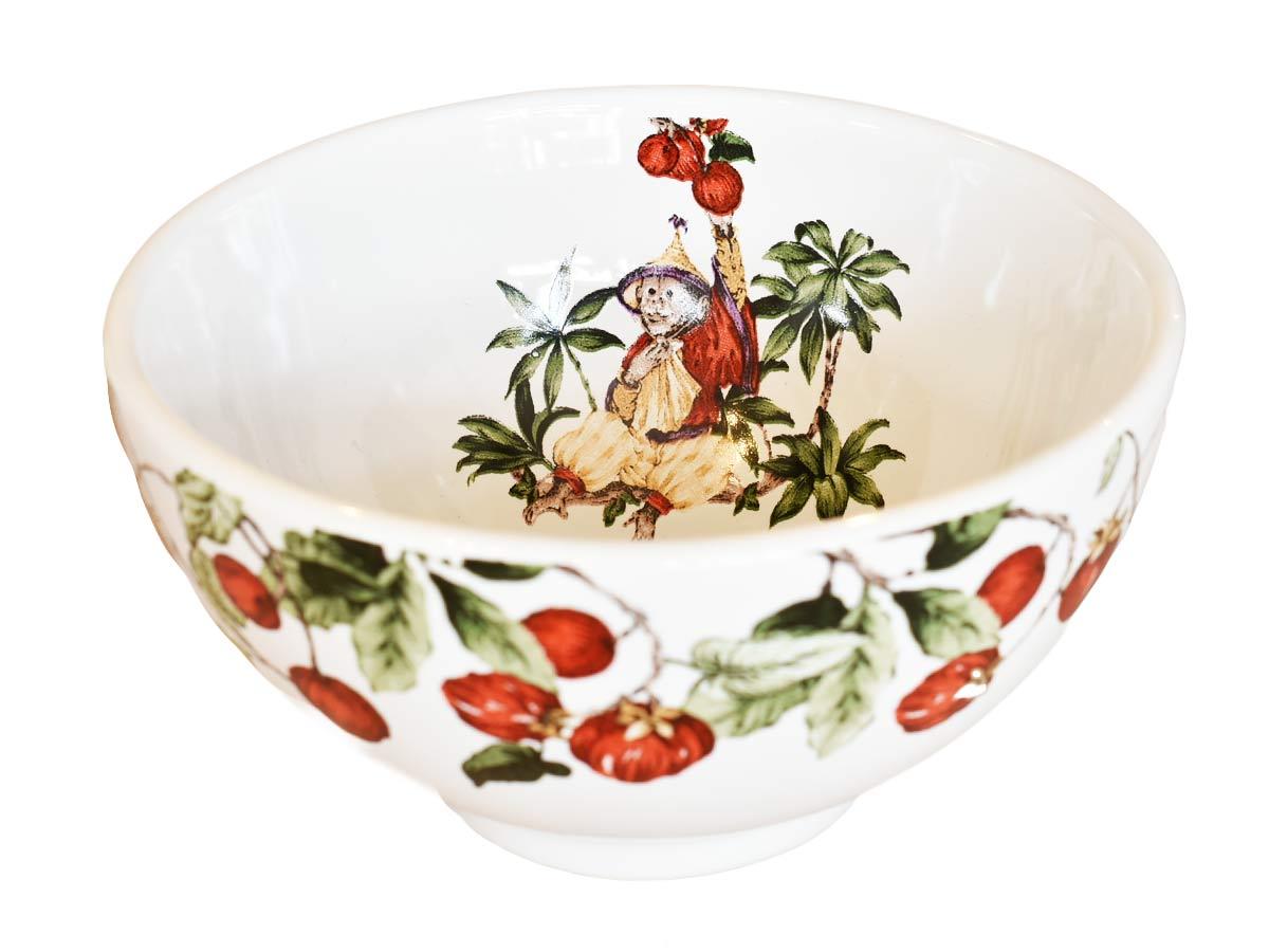 Jogo 6 Bowls 480ml para Cereal Jungle Scalla  - Lemis