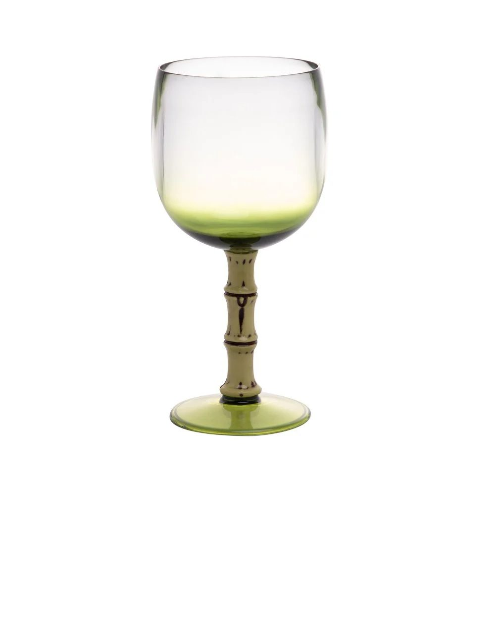 Jogo 6 Taças Acrílico Verde Bon Gourmet 500 ml  - Lemis