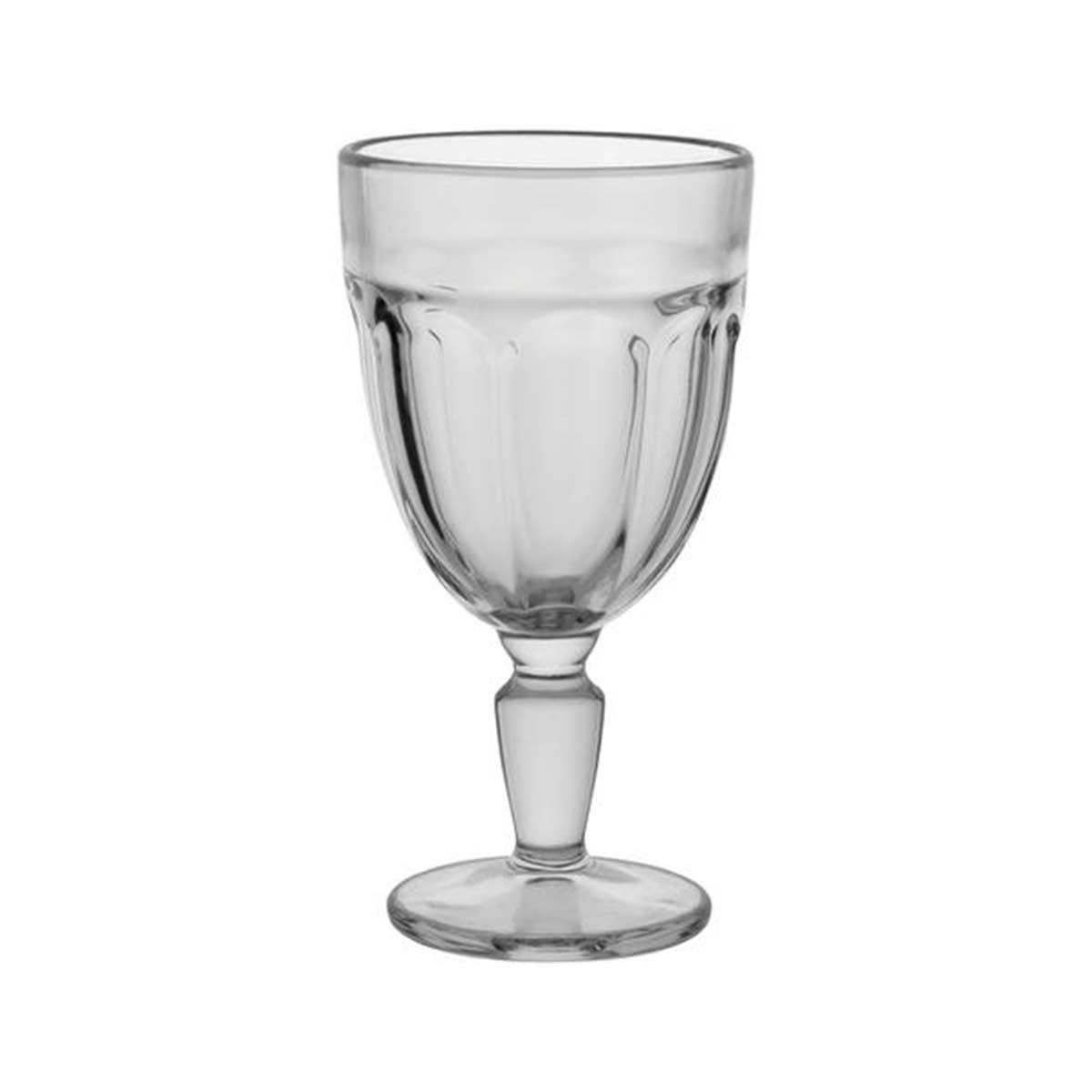 Jogo 6 Taças de Vidro Transparente Gavin 310 ml  - Lemis