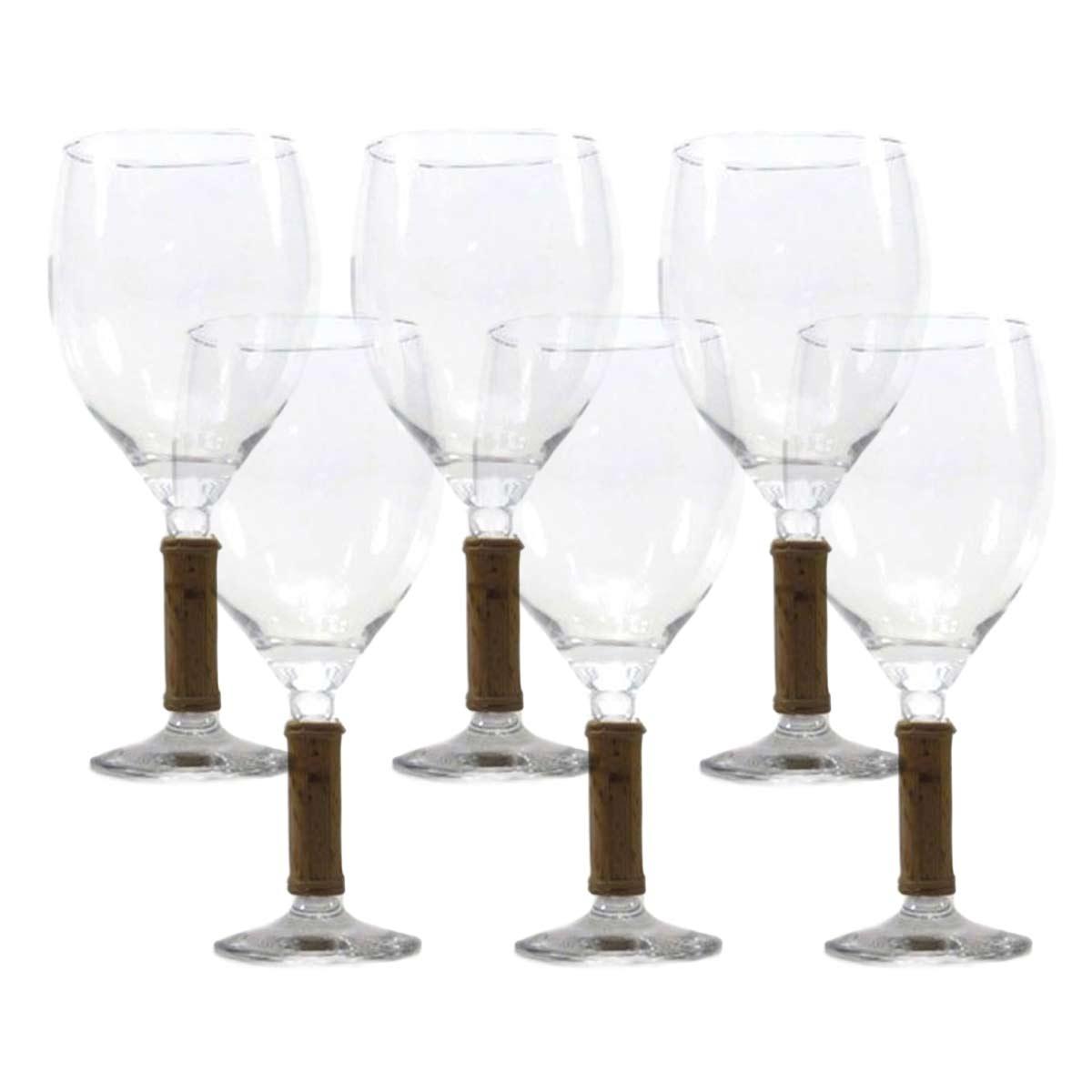Jogo 6 Taças para Vinho Sonia Pierry 500ml  - Lemis
