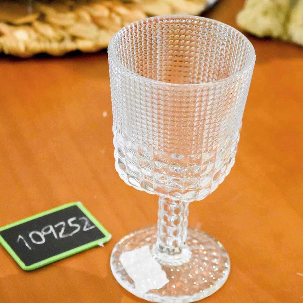 Jogo 6 Taças Transparente Vidro Btc 290 ml  - Lemis