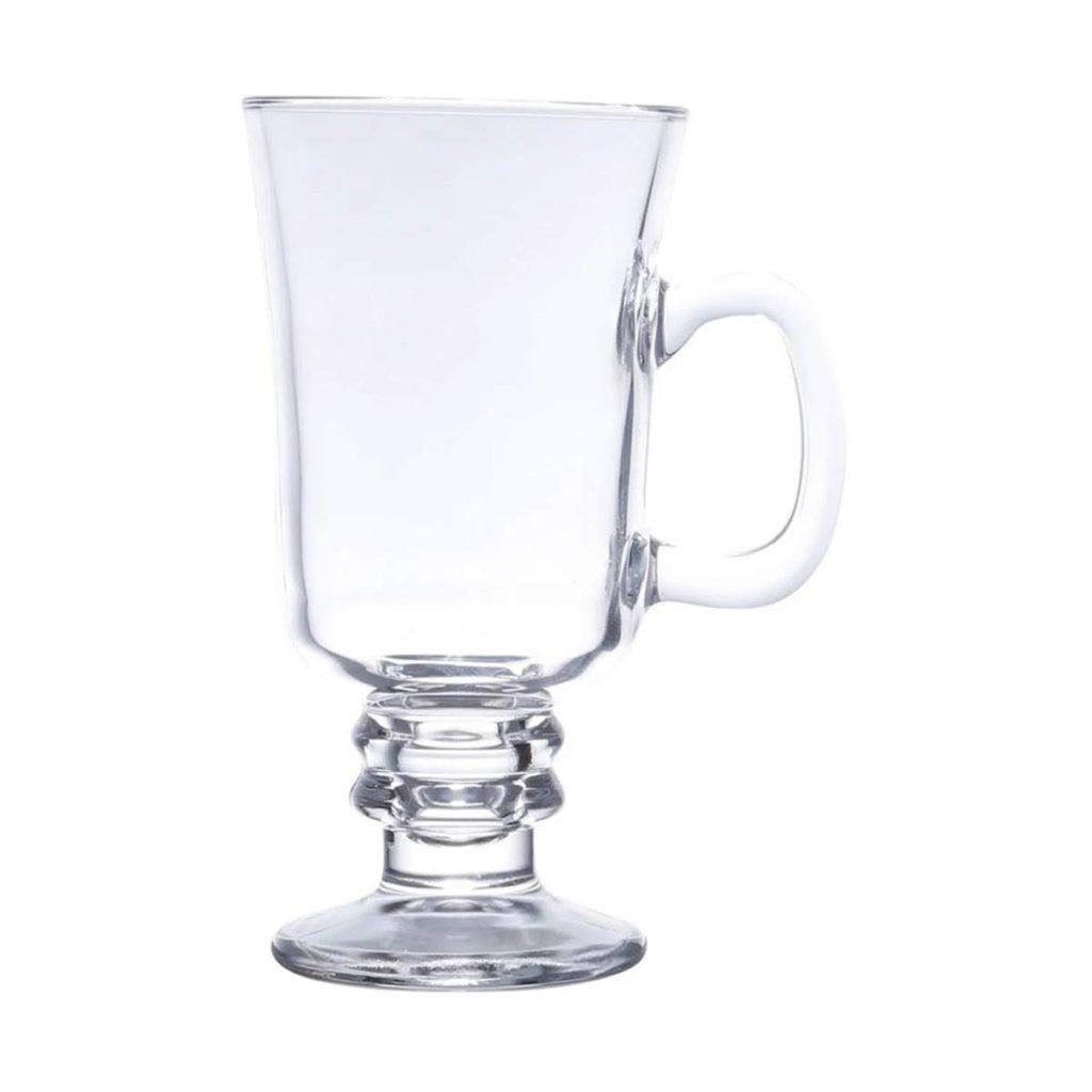 Jogo de 8 Taças para Cappuccino com Alça 295 ml Lyor  - Lemis