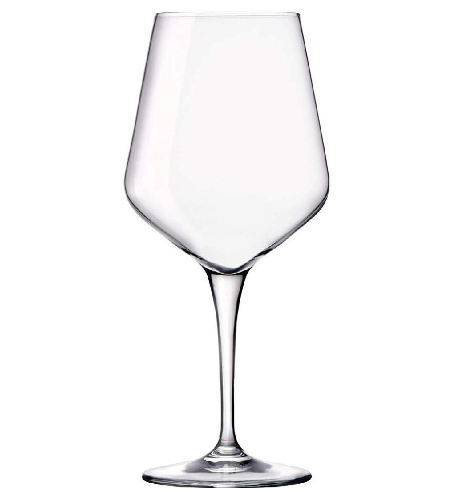 Kit 6 Taças de Cristal Ultime Transparente 440 ml  - Lemis