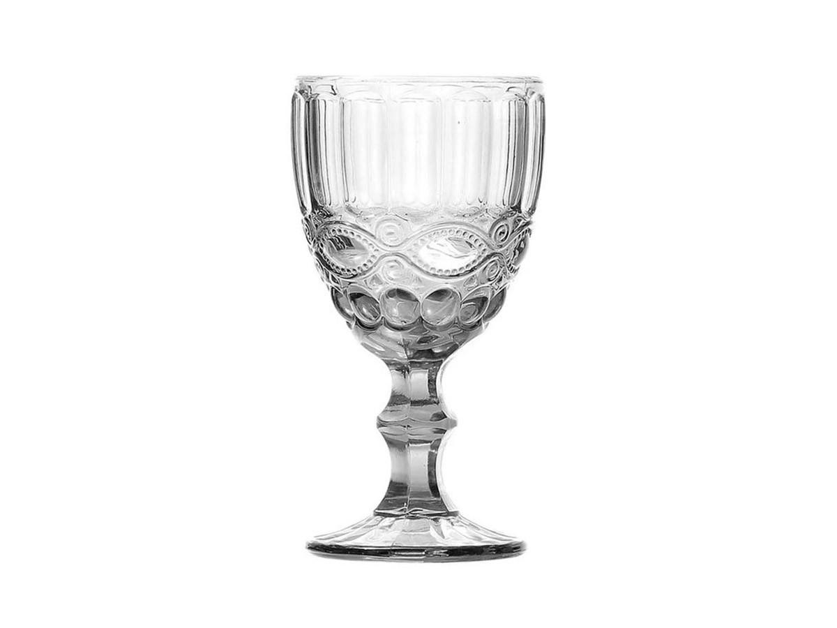 Kit 8 Taças de Água de Vidro Libélula Transparente 310 ml  - Lemis
