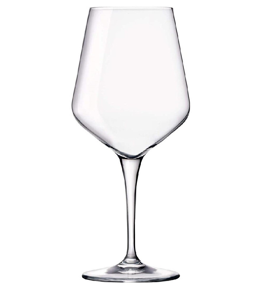 Kit 8 Taças de Cristal Ultime Transparente 440 ml  - Lemis