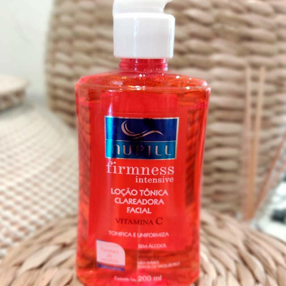 Loção Tônica Clareadora Vitamina C Firmness 200 ml  - Lemis