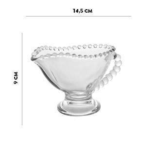 Molheira Cristal de Chumbo Pearl 140 ml Wolff  - Lemis