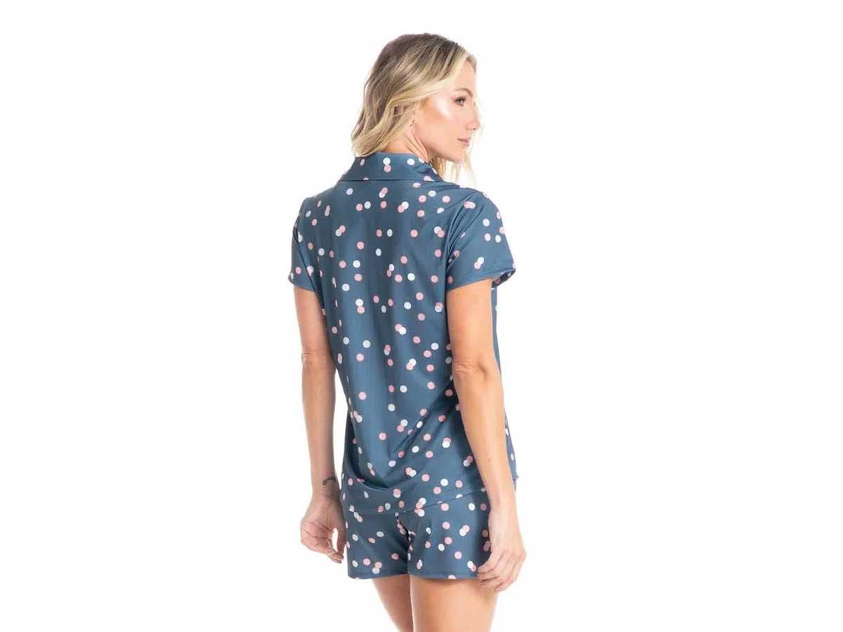 Pijama Sabrina Curto Daniela Tombini  - Lemis