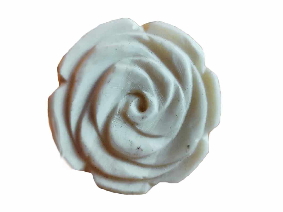Puxador em Cerâmica em Formato de Rosa  - Lemis
