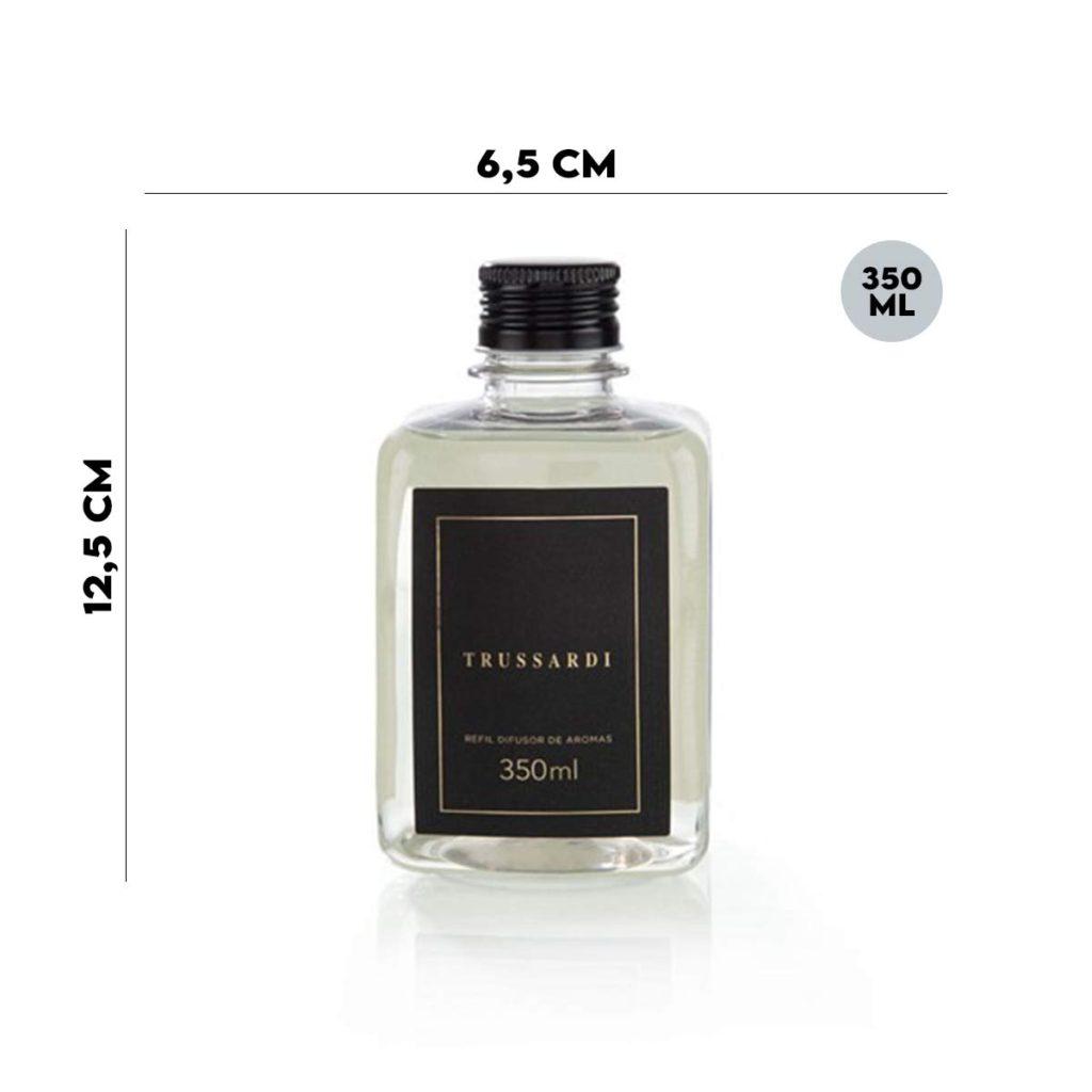 Refil Difusor de Aromas Trussardi 350 ml com 6 Varetas  - Lemis