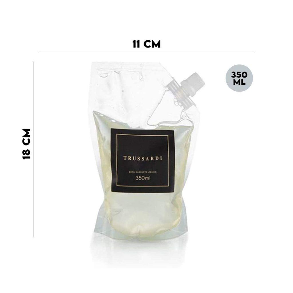 Refil Sabonete Liquido Trussardi 350 ml  - Lemis