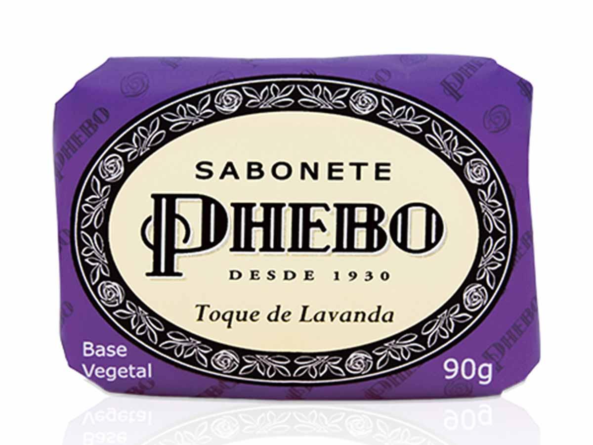 Sabonete em Barra Phebo Toque de Lavanda 90g  - Lemis