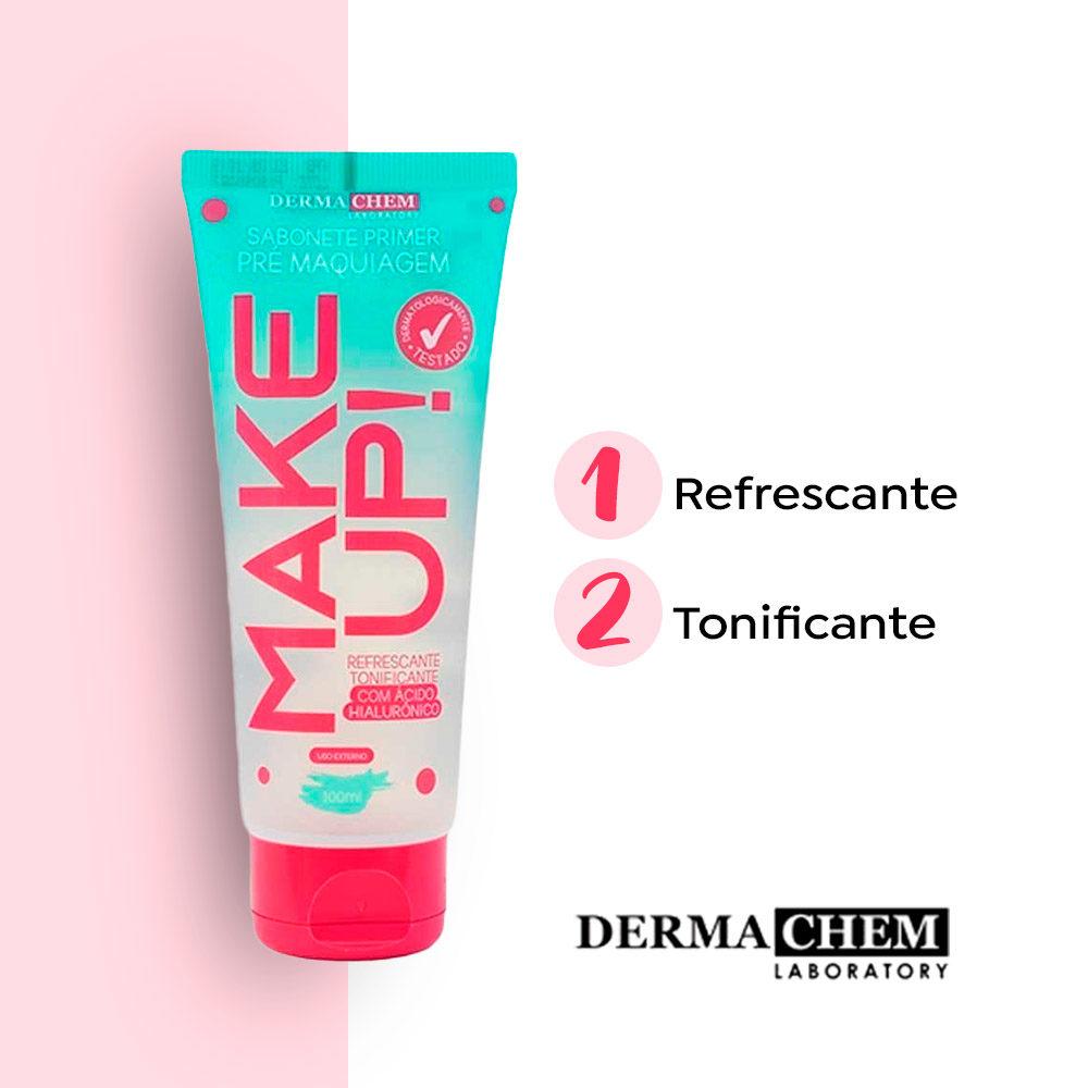 Sabonete Primer Pré Maquiagem Make Up Dermachem  - Lemis