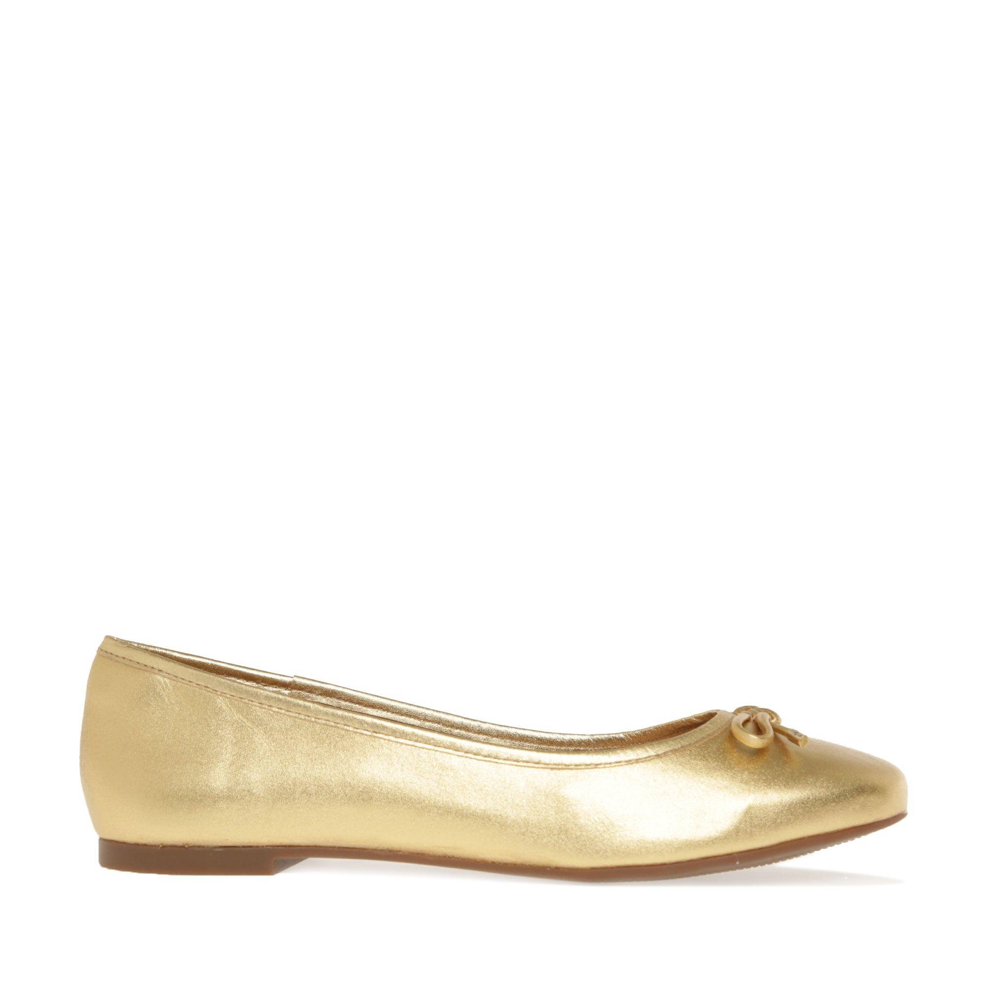 Sapatilha Lumina Dourada Tabita  - Lemis