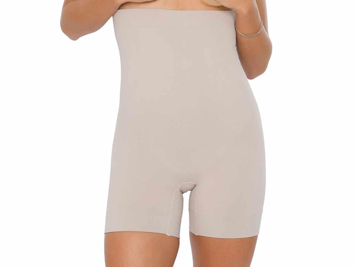 Shorts Feminino Abdominal Emana Base Plié  - Lemis