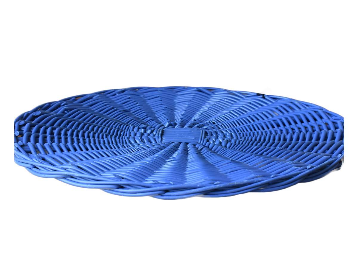 Sousplat Bambu Azul 34cm  - Lemis