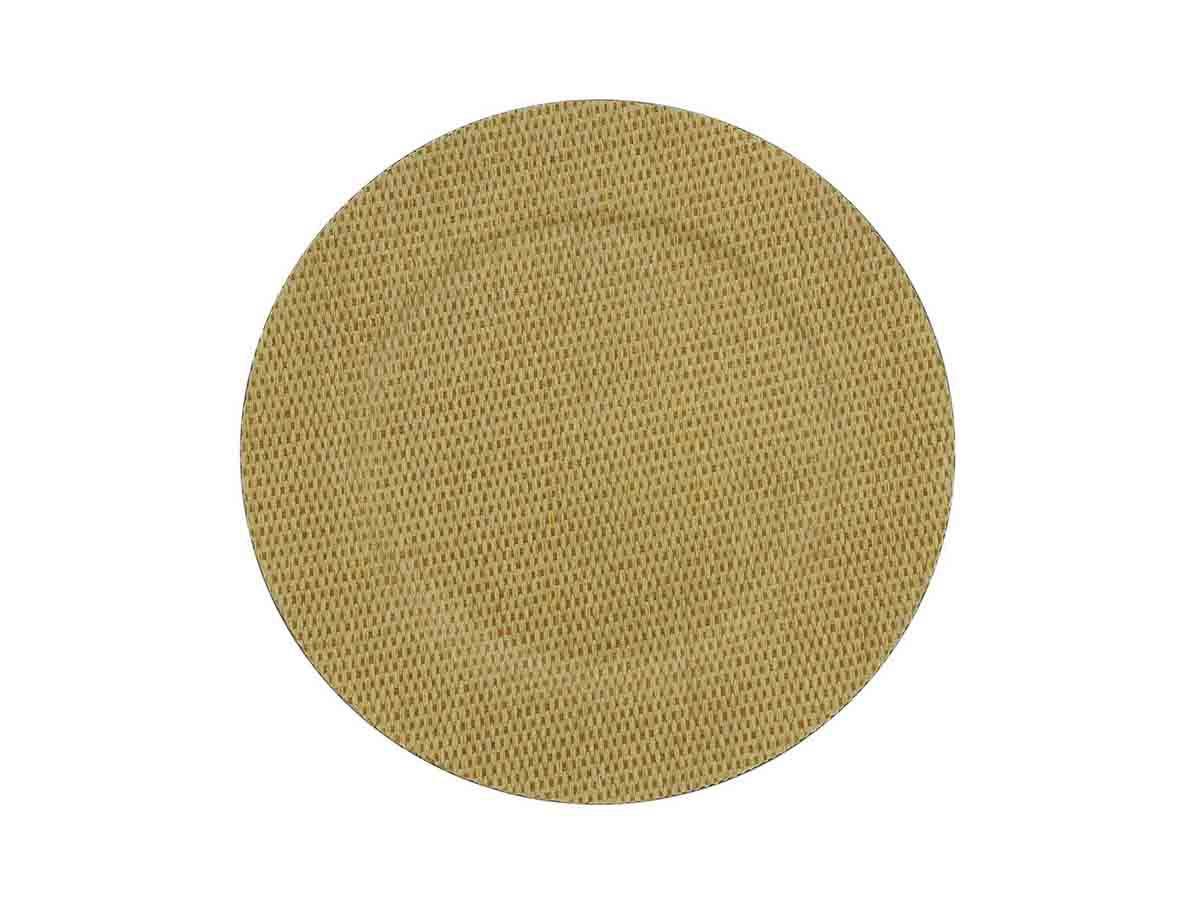 Sousplat Mescla Bege Rojemac de Plástico 33cm  - Lemis