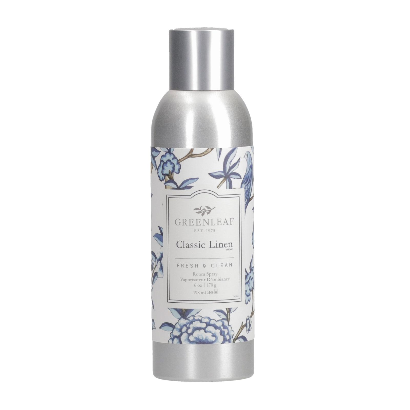Spray Aromatizador De Ambiente Greenleaf Linen Room 198 ml  - Lemis