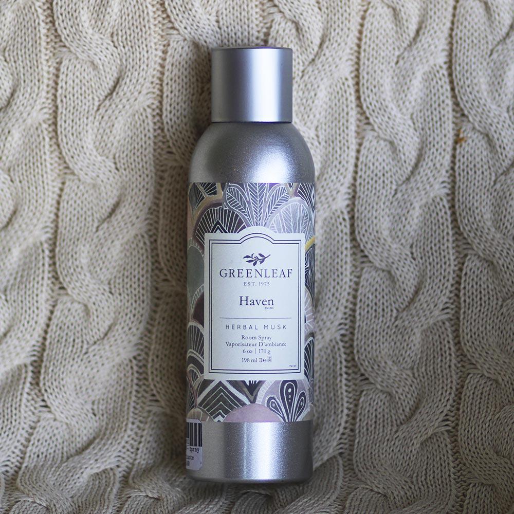 Spray Aromatizador De Ambiente Herbal Musk Greenleaf 198 ml  - Lemis