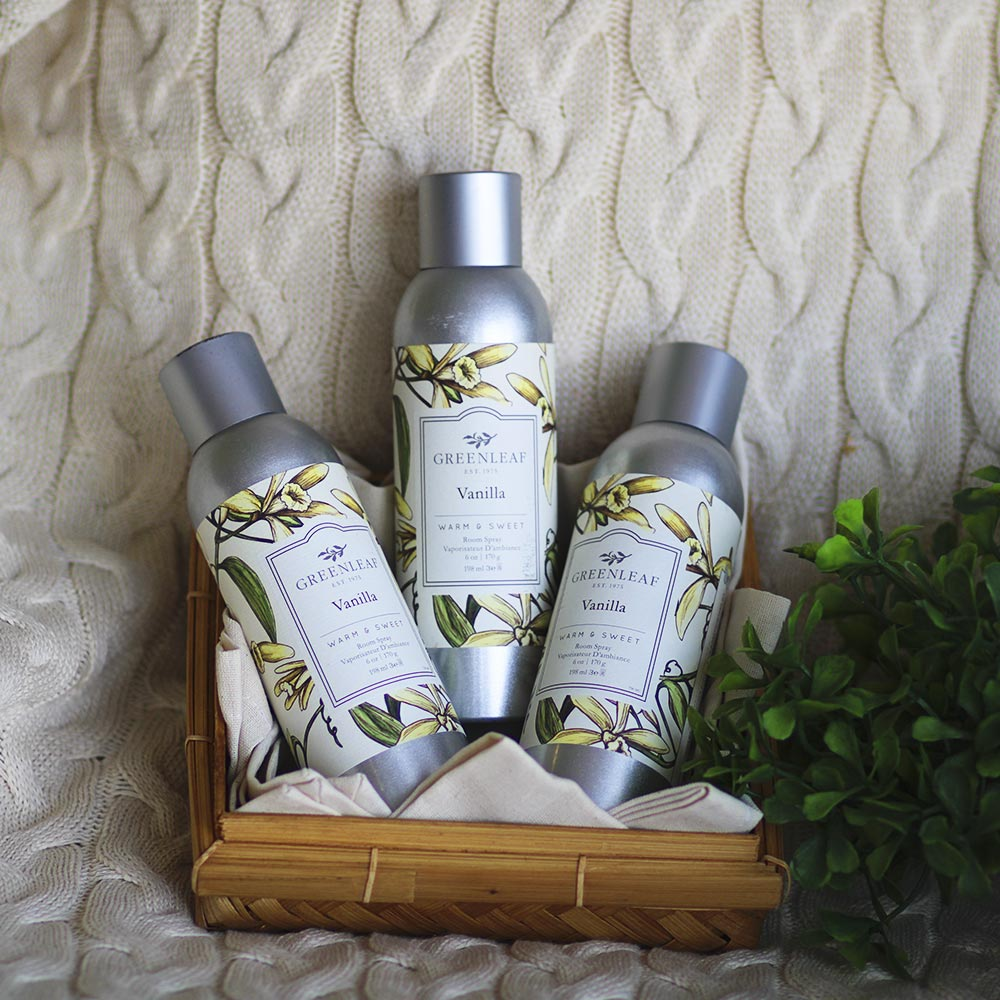 Spray Aromatizador De Ambiente Vanilla Greenleaf 198 ml  - Lemis