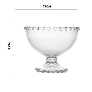 Taça Cristal de Chumbo para Sobremesa Pearl Wolff  - Lemis