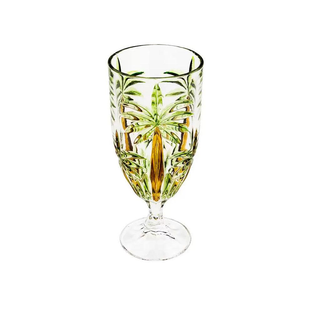 Taça de Cristal de Chumbo Palm Tree 450ml Wolff  - Lemis