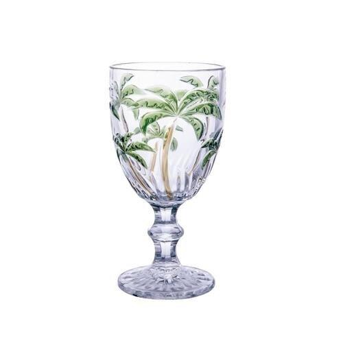 Taça de Vidro Palm Tree 310ml  - Lemis
