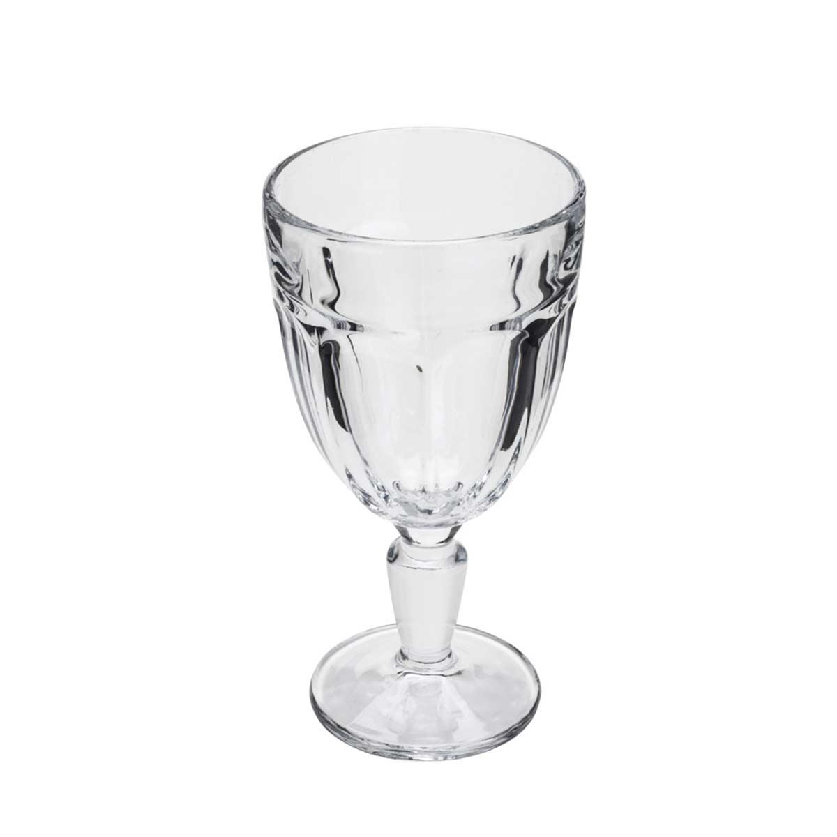 Taça para Agua em Vidro Faces Lyor 330 ml  - Lemis
