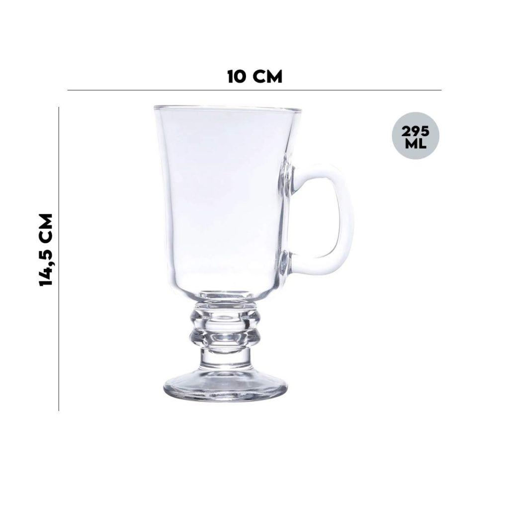 Taça para Cappuccino com Alça 295 ml Lyor  - Lemis