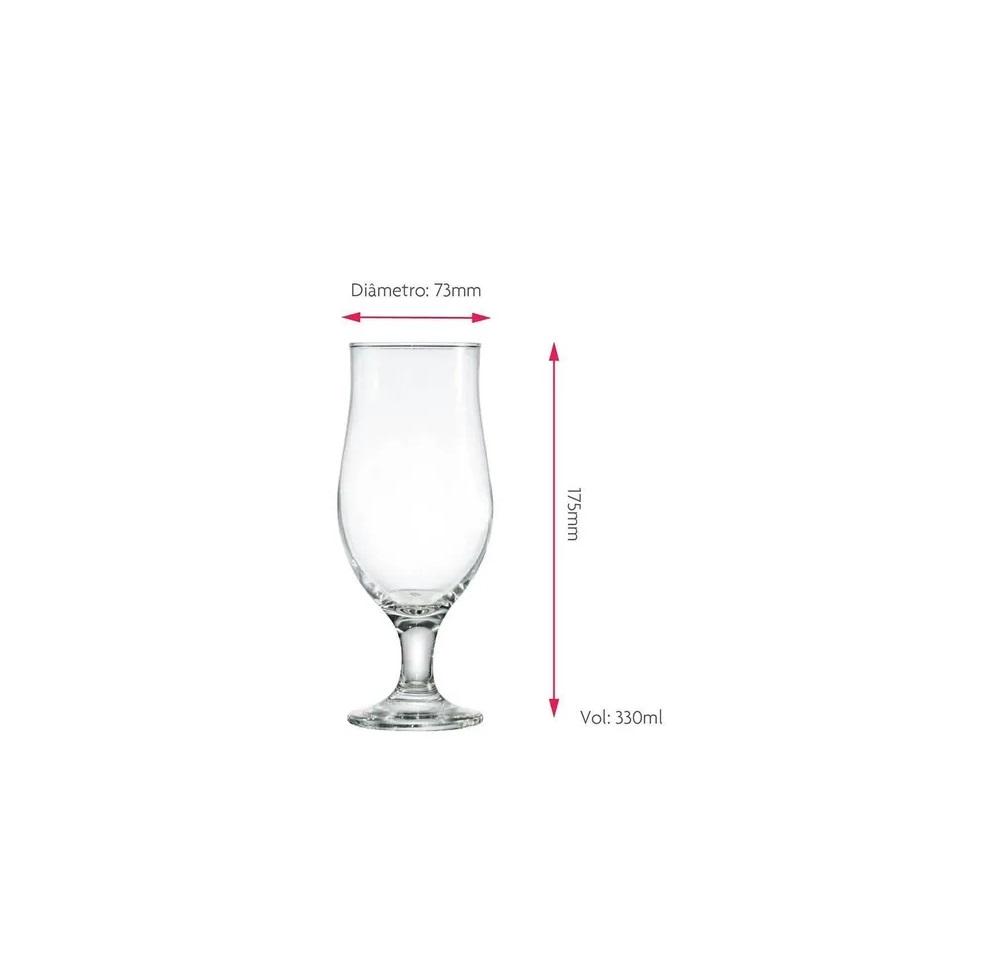 Taça para Cerveja 330 ml  - Lemis