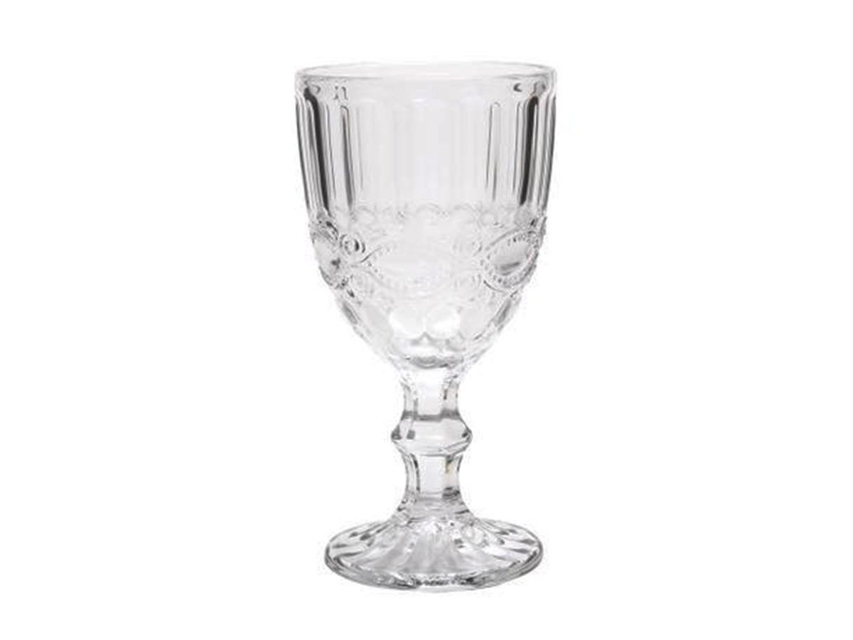 Taça de Água de Vidro Libélula Transparente 310ml  - Lemis