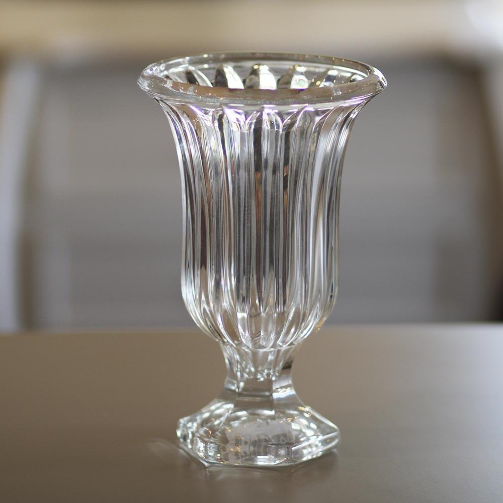 Vaso com Pé de Vidro Sodo Cálcico Renaissance  - Lemis