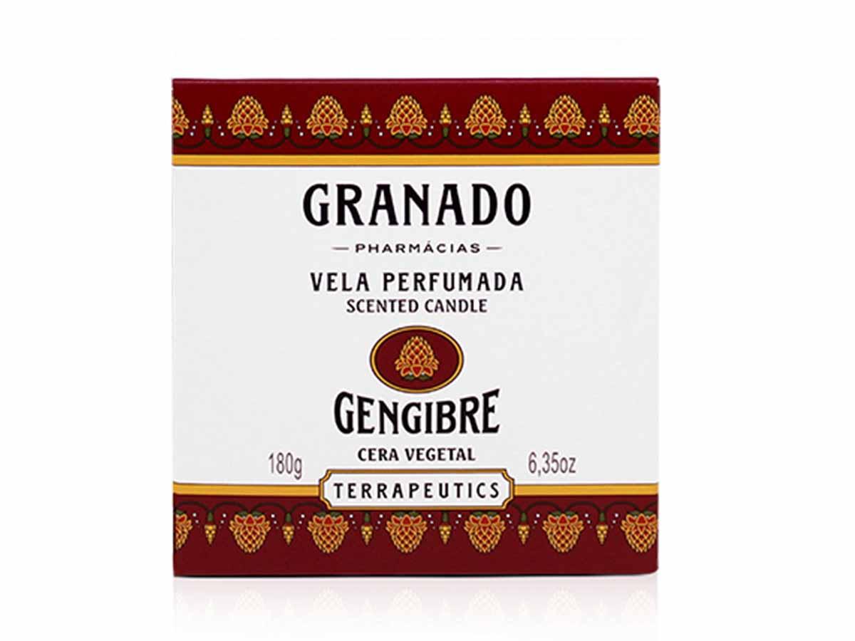 Vela Perfumada Gengibre  - Lemis