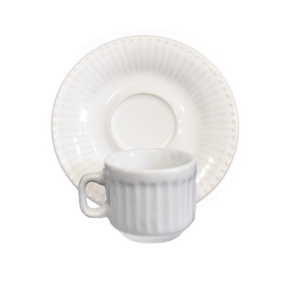 Xícara de Café com Pires Verm 2ª Linha  - Lemis